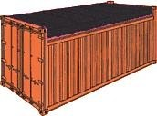 20 Fuß Open Top Container