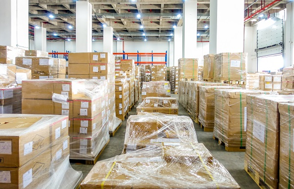 Lagerung kommerziellen Waren