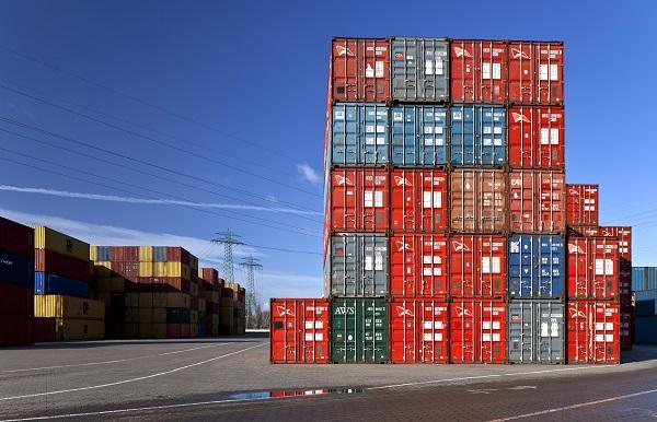 Seecontainer Umzug