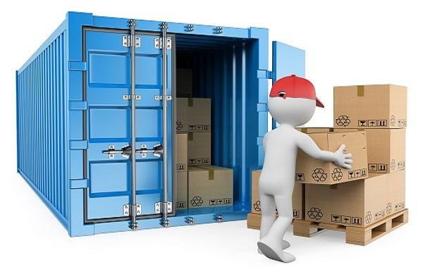 Containerlagerung